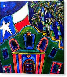 Green Alamo Acrylic Print
