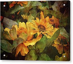 Green And Gold 1068 Idp_2 Acrylic Print