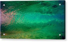Green Awakening Acrylic Print by Brad Scott