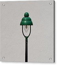 Green Bavarian Lamp Acrylic Print