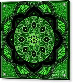 Green Beauty Acrylic Print