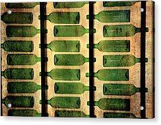 Green Bottles Acrylic Print