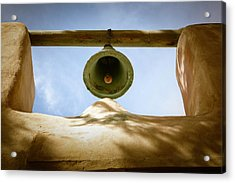 Acrylic Print featuring the photograph Green Church Bell by Marilyn Hunt