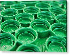 Green Acrylic Print by Dan Holm