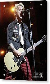 Green Day Billie Joe Armstrong Acrylic Print