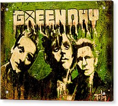 Green Day Acrylic Print by Christopher Chouinard