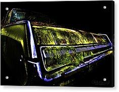 Green Dodge Glory Acrylic Print
