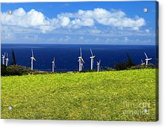Green Energy Acrylic Print