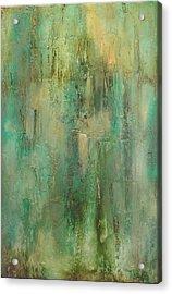 Green Envy Acrylic Print by Tamara Bettencourt