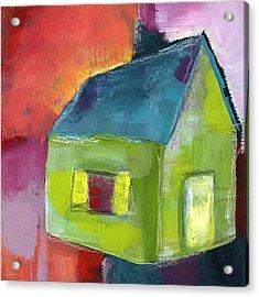 Green House- Art By Linda Woods Acrylic Print by Linda Woods