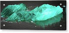 Green Iceberg Acrylic Print