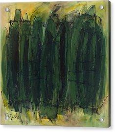 Green Is Good Acrylic Print by Lynne Taetzsch