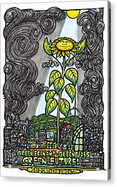 Green Jobs Acrylic Print