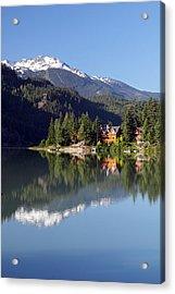 Green Lake Whistler  Acrylic Print by Pierre Leclerc Photography