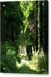Green Lombardy Acrylic Print