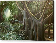 Green Mansions Acrylic Print