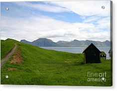 Green Meadow Acrylic Print