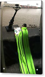 Green Mile Man Acrylic Print by Jez C Self