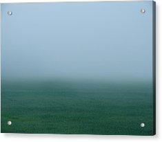 Green Mist Wonder Acrylic Print