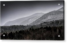 Acrylic Print featuring the photograph Green Mountains - Vermont by Brendan Reals