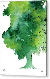 Green Oak Fine Art Print Acrylic Print