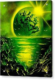 Green Planet 4669 E Acrylic Print