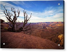 Green River Overlook Acrylic Print by Edgars Erglis
