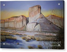 Green River Wyoming Acrylic Print by Marlene Book