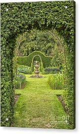 Green Secret Garden Acrylic Print by Patricia Hofmeester
