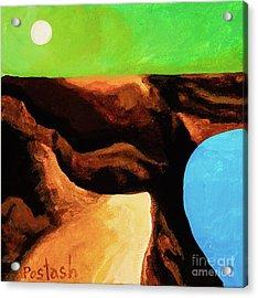Green Skies Acrylic Print by Igor Postash