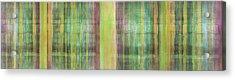 Green Spirit Acrylic Print by Ab Stract