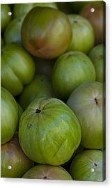 Green Tomatoes Acrylic Print by Robert Ullmann