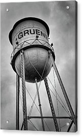 Gruene Water Tower Acrylic Print by Stephen Stookey