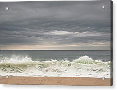 Acrylic Print featuring the photograph Green Wave by Kevin Bergen