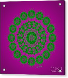 Green With Envy Acrylic Print