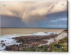 Green Cape Rainbow Acrylic Print