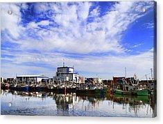 Greencastle Harbour Acrylic Print