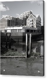 Greenhouse Living Acrylic Print by Jez C Self