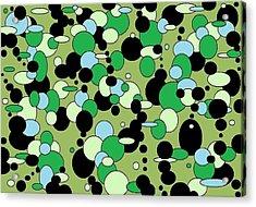 Greenies Acrylic Print