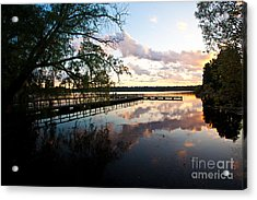 Greenlake Tranquility Acrylic Print