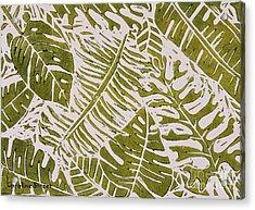 Greenleaves Acrylic Print