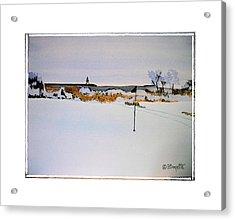 Greenskeeper Acrylic Print by Robert Boyette