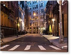 Acrylic Print featuring the photograph Greenwich Village by Alison Frank