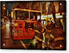 Greenwich Village's Finest Acrylic Print