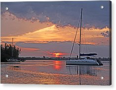 Greet The Day Acrylic Print by HH Photography of Florida