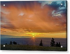 Greet The Marble View Morning Acrylic Print