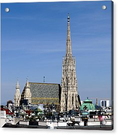 Greetings From Vienna Acrylic Print