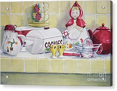 Gretchen Wants A Cookie Acrylic Print