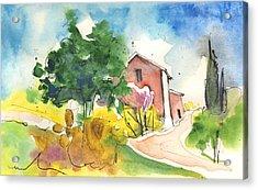 Greve In Chianti In Italy 01 Acrylic Print