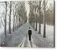 Grey Day Acrylic Print by Thomas Blood